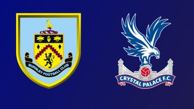 Burnley v Crystal Palace
