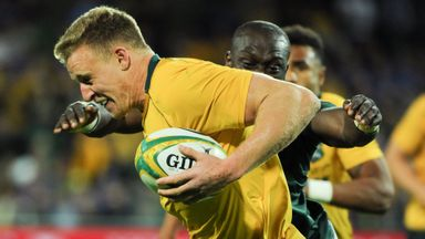 Rugby Championship: Australia v SA