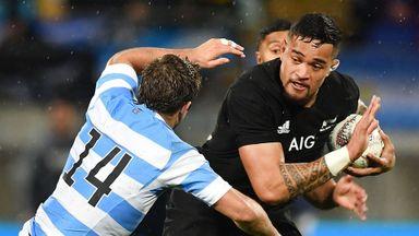 Rugby Championship: NZ v Argentina
