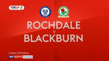 Rochdale 0-3 Blackburn