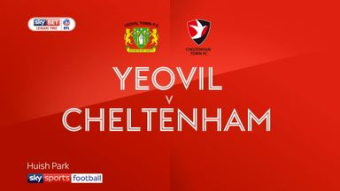 Yeovil 0-0 Cheltenham