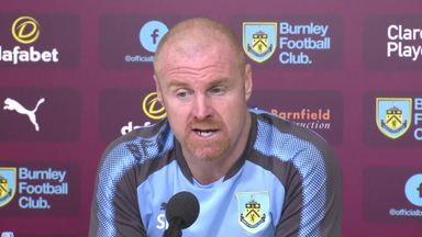 Dyche: We won't take Everton lightly