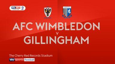 AFC Wimbledon 1-1 Gillingham