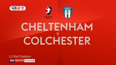 Cheltenham 3-1 Colchester