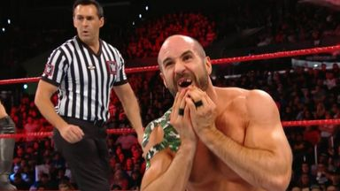 Cesaro loses teeth