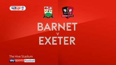 Barnet 1-2 Exeter
