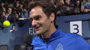 Federer delighted with Day 1