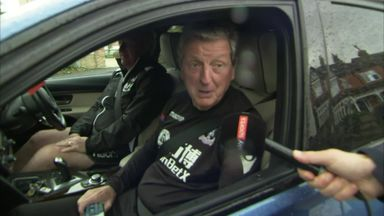 Hodgson positive after training