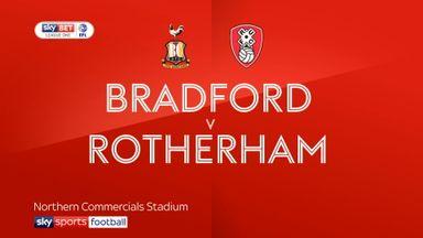 Bradford 1-0 Rotherham
