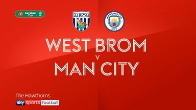 West Brom 1-2 Man City
