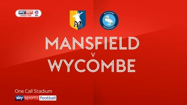 Mansfield 0-0 Wycombe