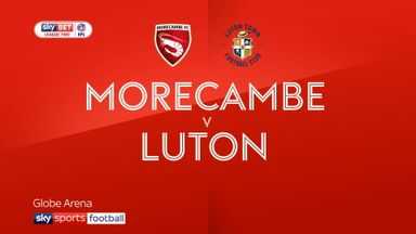 Morecambe 0-0 Luton