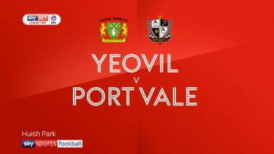 Yeovil 1-1 Port Vale