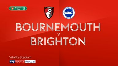 Bournemouth 1-0 Brighton AET