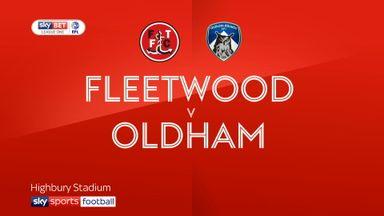 Fleetwood 2 - 2 Oldham