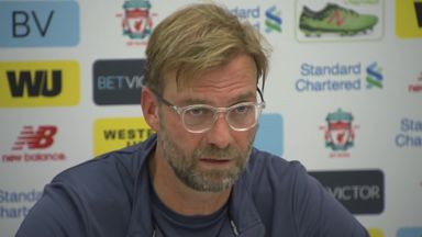 Klopp: I do not feel pressure