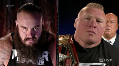 Strowman and Lesnar interview