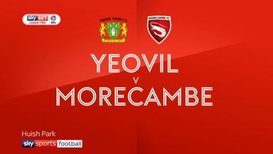 Yeovil 2-2 Morecambe