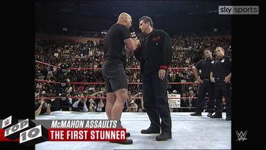 WWE Top 10: McMahon Family assaults