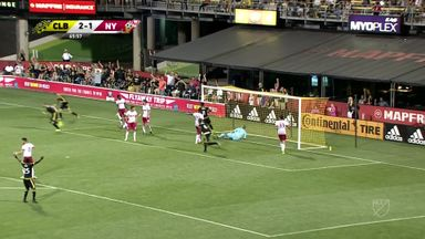 Columbus Crew 3-2 New York Red Bulls