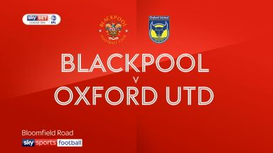 Blackpool 3-1 Oxford