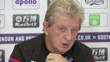 Hodgson: I've seen Palace progress
