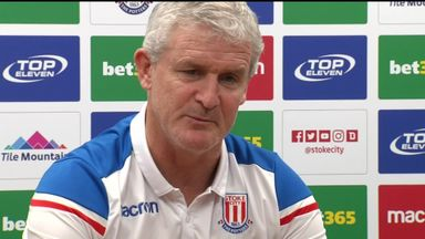 Hughes: Stoke have one defender