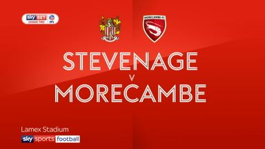 Stevenage 2-1 Morecambe