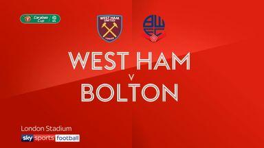 West Ham 3-0 Bolton