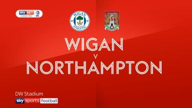 Wigan 1-0 Northampton