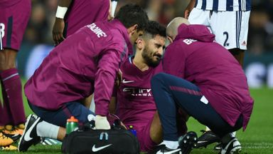 Gundogan suffers injury setback