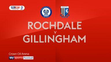 Rochdale 3-0 Gillingham