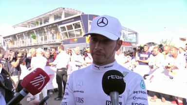 Lewis: Good to win on Ferrari turf