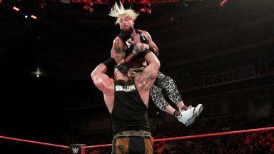 Braun Strowman demolishes Enzo Amore
