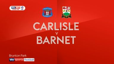 Carlisle 1-1 Barnet