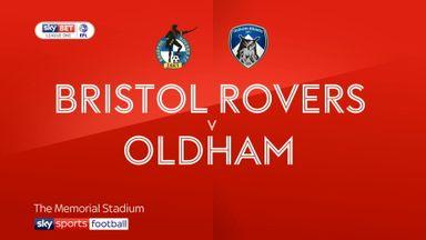 Bristol Rovers 2-3 Oldham