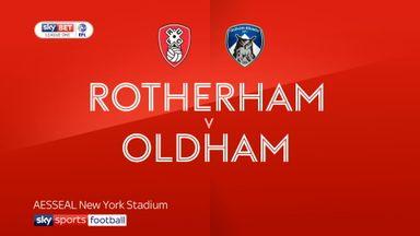 Rotherham 5-1 Oldham