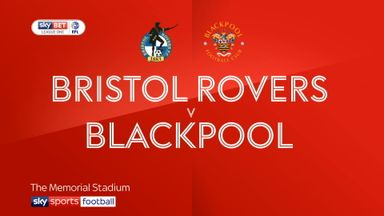 Bristol Rovers 3-1 Blackpool
