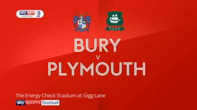 Bury 0-0 Plymouth