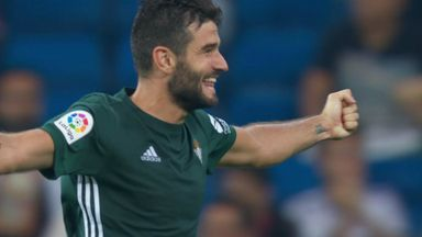 Betis stun Real Madrid