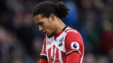 Saints' Van Dijk to face Man United