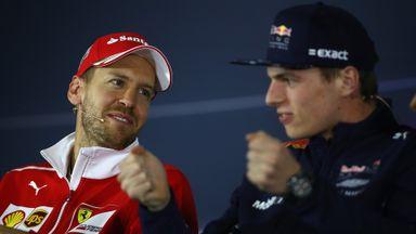 'Vettel fears Max'
