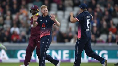 England v Windies 1st ODI highlights