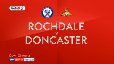 Rochdale 2-1 Doncaster