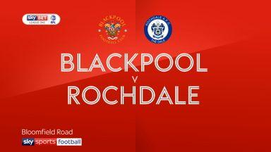 Blackpool 0-0 Rochdale