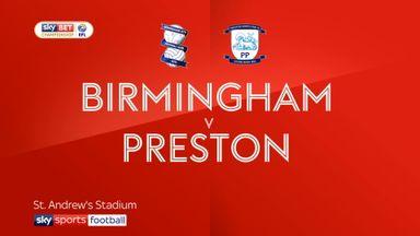 Birmingham 1-3 Preston