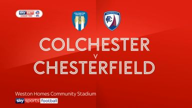 Colchester 1-1 Chesterfield
