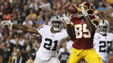 Raiders 10-27 Redskins