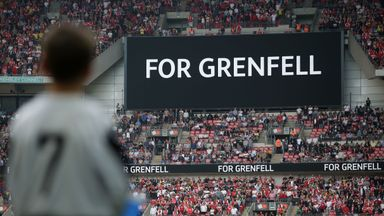 Mcfly's Jones supporting Game for Grenfell