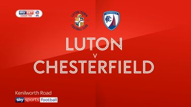 Luton 1-0 Chesterfield